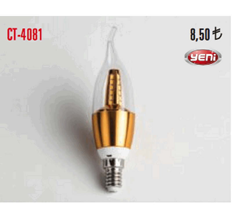 CT 4081 LED BUJİ AMPÜLLERİ -CT 4081 LED BUJİ AMPÜLLERİ