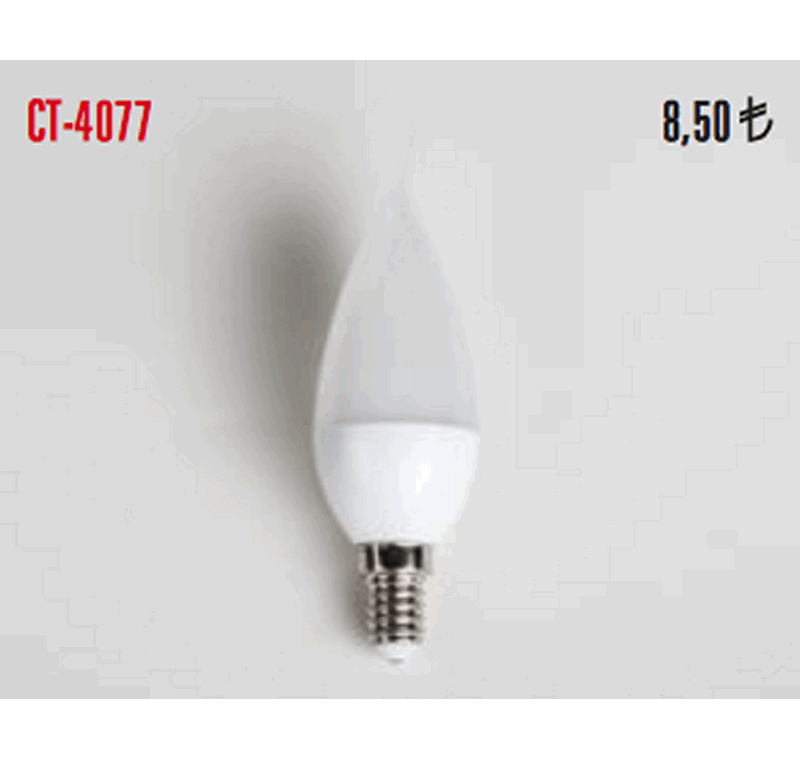 CT 4077 LED BUJİ AMPÜLLERİ 5W -CT 4077 LED BUJİ AMPÜLLERİ