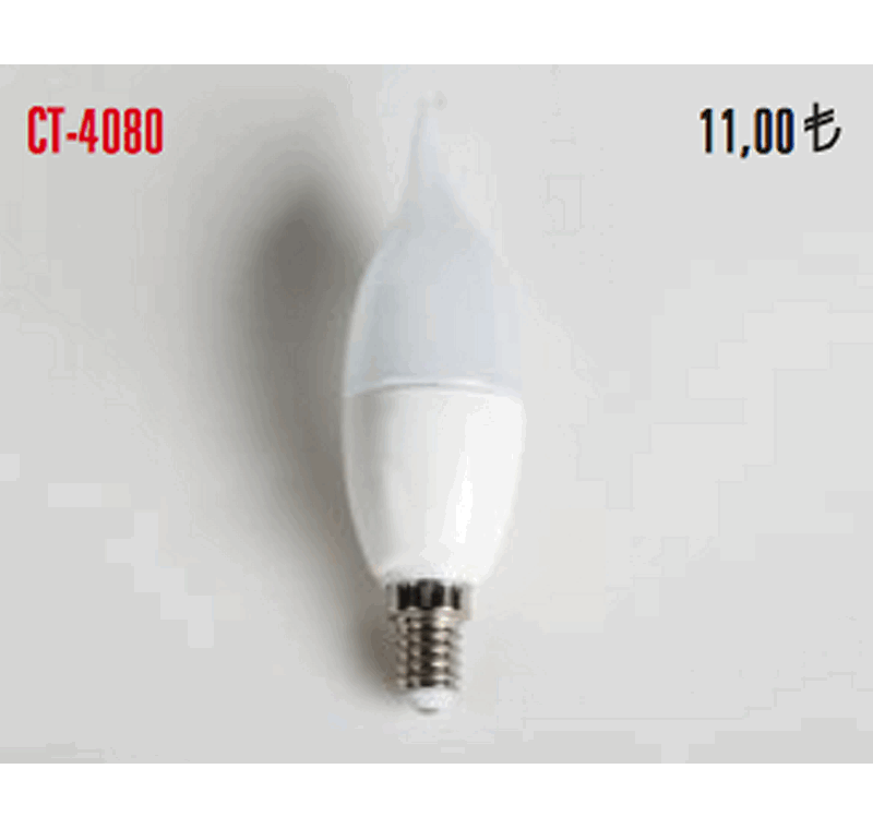 CT 4080 LED BUJİ AMPÜLLERİ 7W -CT 4080 LED BUJİ AMPÜLLERİ