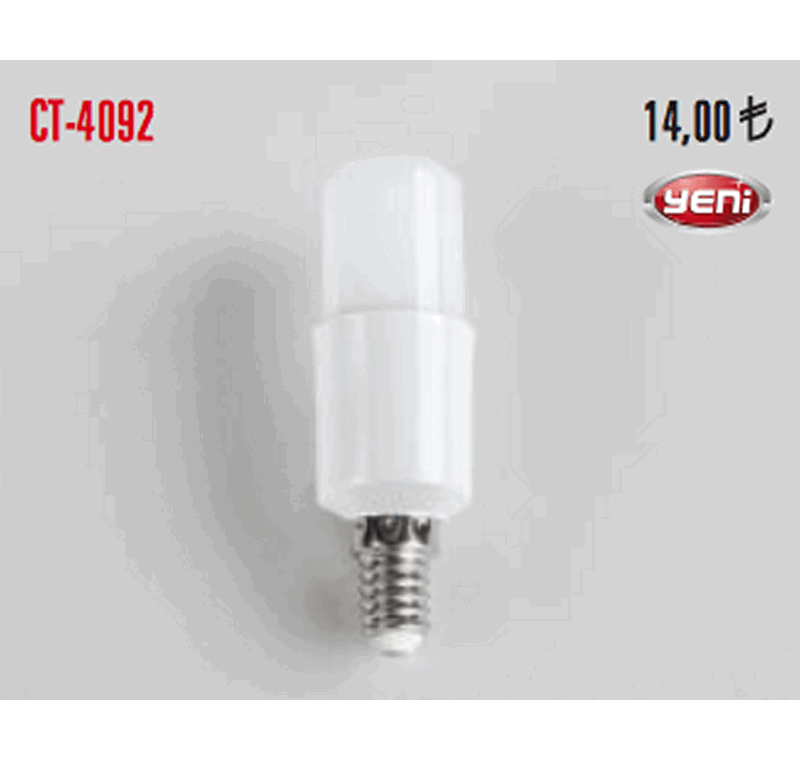 CT 4092 LED BUJİ AMPÜLLERİ 9W -CT 4092 LED BUJİ AMPÜLLERİ